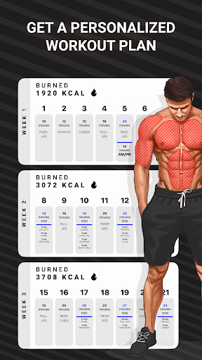 Workout Planner by Muscle Booster screenshot 2