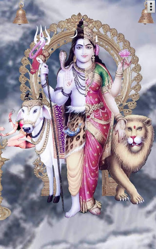 4D Shiv Parvati Live Wallpaper screenshot 1