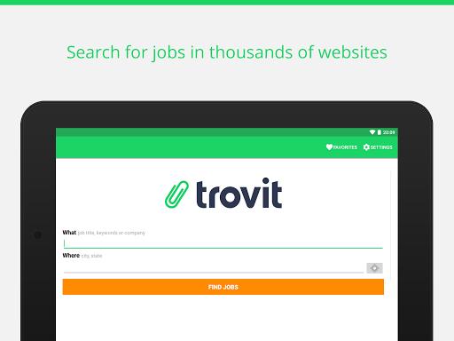 Find job offers - Trovit Jobs 9 تصوير الشاشة