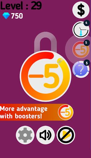 Lock'n Spin - Unlock the padlock screenshot 2